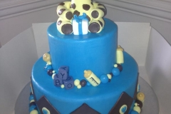 christening baby shower personalised cakes (1)